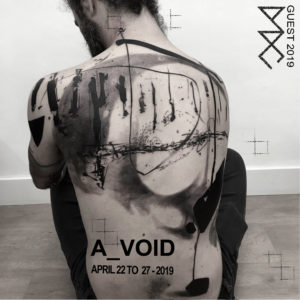 A_VOID tattoo chez DADC