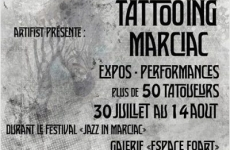 [CONVENTION] TATTOOING MARCIAC – AOUT 2016